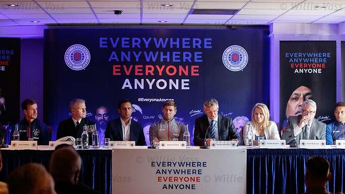 22.07.2019 Rangers launch diversity and inclusion campaign 'Everyone, Anyone'  at Ibrox today