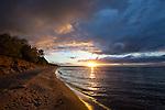 Lake Superior Spring Sunset