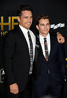 James Franco &amp; Dave Franco at the 21st Annual Hollywood Film Awards at The Beverly Hilton Hotel, Beverly Hills. USA 05 Nov. 2017<br /> Picture: Paul Smith/Featureflash/SilverHub 0208 004 5359 sales@silverhubmedia.com