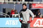 09 December 2016: Toronto's Alex Bono. Toronto FC held a training session one day before playing in MLS Cup 2016 at BMO Field in Toronto, Ontario in Canada.