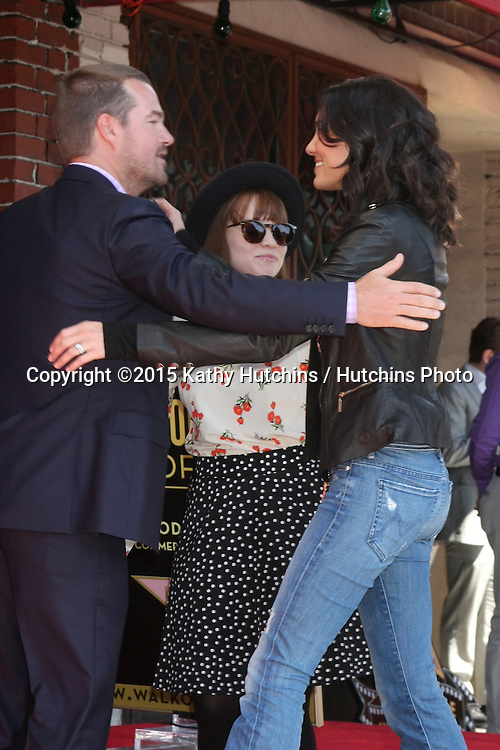 LOS ANGELES - MAR 5:  Chris O'Donnell, Daniela Ruah at the Chris O'Donnell Hollywood Walk of Fame Star Ceremony at the Hollywood Blvd on March 5, 2015 in Los Angeles, CA