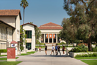 Occidental College campus on Aug. 21, 2017. Academic Quad and surrounding area.<br />