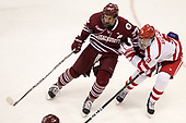 William Lagesson (UMass - 37), Kieffer Bellows (BU - 9) - The Boston University Terriers defeated the University of Massachusetts Minutemen 3-1 on Friday, February 3, 2017, at Agganis Arena in Boston, Massachusetts.The Boston University Terriers defeated the visiting University of Massachusetts Amherst Minutemen 3-1 on Friday, February 3, 2017, at Agganis Arena in Boston, MA.