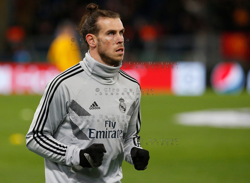 Gareth Bale of Real Madrid  during the Champions League Group  soccer match between AS Roma - Real Madrid  at the Stadio Olimpico in Rome Italy 27 November 2018