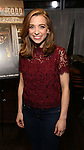 """Alex Finke attends a press reception for the cast of The Tooting Arts Club production of """"Sweeney Todd''  at AOC L'aile ou la Cuisse on February 2, 2017 in New York City."""