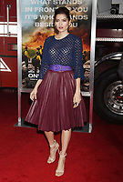 WESTWOOD, CA - OCTOBER 08: Actress Blanca Blanco arrives at the Premiere Of Columbia Pictures' 'Only The Brave' at Regency Village Theatre on October 8, 2017 in Westwood, California.<br /> CAP/ROT/TM<br /> &copy;TM/ROT/Capital Pictures