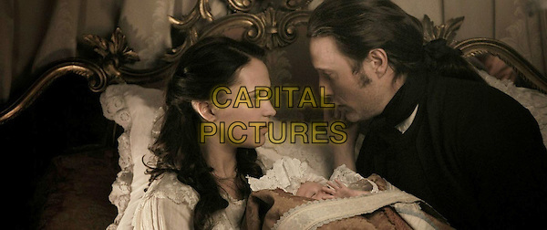 ALICIA VIKANDER & MADS MIKKELSEN .in A Royal Affair (2012) .(En kongelig affære).*Filmstill - Editorial Use Only*.CAP/FB.Supplied by Capital Pictures.