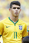 Oscar (BRA), JULY 4, 2014 - Football / Soccer : FIFA World Cup Brazil 2014 Quarter Final match between Brazil 2-1 Colombia at the Castelao arena in Fortaleza, Brazil. <br /> (Photo by AFLO)