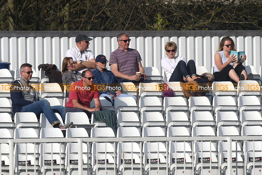 Spectators look on during Essex CCC vs Durham MCCU, English MCC University Match Cricket at The Cloudfm County Ground on 2nd April 2017