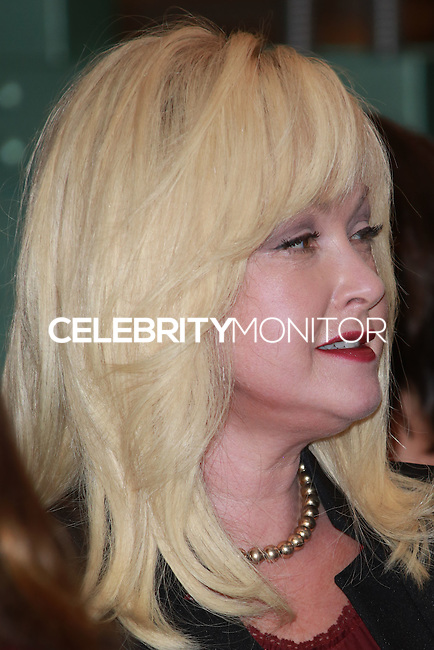 CENTURY CITY, CA, USA - NOVEMBER 14: Cyndi Lauper poses at FOX's 'Bones' 200th Episode Celebration With The Cast And Producers held at the Fox Studio Lot on November 14, 2014 in Century City, California, United States. (Photo by David Acosta/Celebrity Monitor)