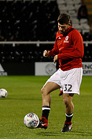 Ched Evans of Sheffield United during the Sky Bet Championship match between Fulham and Sheff United at Craven Cottage, London, England on 6 March 2018. Photo by Carlton Myrie.