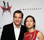 Clive Owen and Jin Ha attends the Broadway Opening Night After Party for 'M. Butterfly' on October 26, 2017 at Red Eye Grill in New York City.