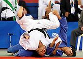 Andres Munoz de Valle del Cauca, azul, y Jorge Gonzalez de Risaralda en un combate de judo hombres -55kg durante los Juegos Deportivos Nacionales en el Coliseo Tulcan de la Universidad del Cauca, Popayan, Cauca, Colombia, Noviembre 5 2012.<br /> Foto: Coldeportes/Archivolatino<br /> <br /> COPYRIGHT: Coldeportes. Imagen distribuida por el servicio gratuito de difusion de los Juegos Deportivos Nacionales 2012. Prohibida su venta y su uso comercial.