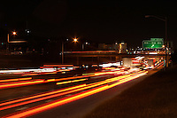 Evening Austin traffic on I-35