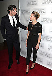 Benjamin Walker & Scarlett Johansson attending the Broadway Opening Night Performance After Party for 'Cat On A Hot Tin Roof' at The Lighthouse at Chelsea Piers in New York City on 1/17/2013