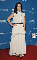 Phoebe Fox at the British Independent Film Awards (BIFA) 2018, Old Billingsgate Market, Lower Thames Street, London, England, UK, on Sunday 02 December 2018.<br /> CAP/CAN<br /> &copy;CAN/Capital Pictures