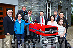 Kerry Mayor John Sheahan and Killarney Mayor Niall Kelliher launched the South Kerry Ploughing Championships in the Inisfallen Hotel Fossa on Saturday l-r: Jay Galvin Kerry Cork Health Link bus, Connie Brosnan Irish Lung Federation, Tom Leslie, Kerry Mayor John Sheahan and Killarney Mayor Niall Kelliher, Moira Murrell Kerry County Council, Jim Foley Irish pilgrimage trust, Jack Nagle and Niamh Cronin Kerry Down Syndrome