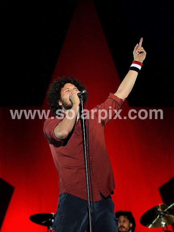 **ALL ROUND PICTURES FROM SOLARPIX.COM**.**SYNDICATION RIGHTS FOR UK AND SPAIN ONLY**.Rage Against The Machine performing at the music festival 'Rock am Ring' at the Nuerburgring racetrack, Nurnberg, Germany. 6th-8th June 2008...JOB REF: 6593 CPR/Clemens Bilan .DATE: 08_06_2008.**MUST CREDIT SOLARPIX.COM OR DOUBLE FEE WILL BE CHARGED* *UNDER NO CIRCUMSTANCES IS THIS IMAGE TO BE REPRODUCED FOR ANY ONLINE EDITION WITHOUT PRIOR PERMISSION*