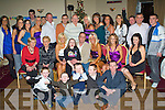 6332-6336.Surprise - Noel O'Sullivan from Strand Road, seated centre having a ball with family and friends at his surprise 50th birthday party held in Kerins O'Rahillys GAA Club on Saturday night.