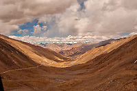 The landscapes of the Himalayas in Ladakh are washed in a golden hue that is  probably unique to the high altitude areas. This mage was taken at 12000+ feet above sea level.