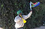 FUDBAL, JOHANEZBURG, 08. Jun. 2010. - Navijac Juzne Afrike. U Juznoj Africi se od 11. juna do 11. jula odigrava Svetsko prvenstvo u fudbalu. Foto: Nenad Negovanovic