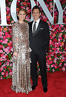 NEW YORK, NY - JUNE 10: Claire Danes and Hugh Darcy attends the 72nd Annual Tony Awards at Radio City Music Hall on June 10, 2018 in New York City.  <br /> CAP/MPI/JP<br /> &copy;JP/MPI/Capital Pictures