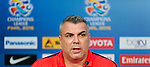 Al Ahli press conference ahead their AFC Champions League Final Match 1st Leg against Guangzhou Evergrande at the Al-Rashid Stadium on 6 November 2015 in Dubai, United Arab States. Photo by Victor Fraile / Power Sport Images