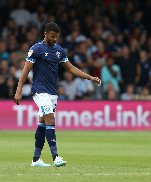 Huddersfield Town's Fraizer Campbell <br /> <br /> Photographer Rob Newell/CameraSport<br /> <br /> The EFL Sky Bet Championship - Luton Town v Huddersfield Town - Saturday 31 August 2019 - Kenilworth Stadium - Luton<br /> <br /> World Copyright © 2019 CameraSport. All rights reserved. 43 Linden Ave. Countesthorpe. Leicester. England. LE8 5PG - Tel: +44 (0) 116 277 4147 - admin@camerasport.com - www.camerasport.com