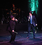 Josh Gad & Rory O'Malley.performing in 'MISCAST 2012' MCC Theatre's Annual Musical Spectacular at The Hammerstein Ballroom in New York City on 3/26/2012.