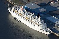 Kreuzfahrtschiff  Boudicca: EUROPA, DEUTSCHLAND, HAMBURG, (EUROPE, GERMANY), 10.11.2013: Die Boudicca ist ein Kreuzfahrtschiff der norwegisch-britischen Reederei Fred. Olsen Cruise Lines