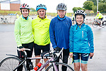 Annemarie O'Sullivan, Francis O'Connor, John Keohane and Loretta O'Connor at the Stephenie O'Sullivan Memorial Cycle at Milton on Sunday.