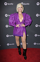 "07 February 2019 - Westwood, California - Bebe Rexha. Spotify ""Best New Artist 2019"" Event held at Hammer Museum. <br /> CAP/ADM/PMA<br /> ©PMA/ADM/Capital Pictures"