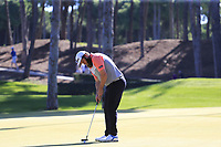 Andrew Johnston (ENG) putts on the 10th green during Thursday's Round 1 of the 2018 Turkish Airlines Open hosted by Regnum Carya Golf &amp; Spa Resort, Antalya, Turkey. 1st November 2018.<br /> Picture: Eoin Clarke | Golffile<br /> <br /> <br /> All photos usage must carry mandatory copyright credit (&copy; Golffile | Eoin Clarke)