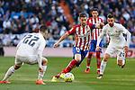 Atletico de Madrid´s Gabi during 2015/16 La Liga match between Real Madrid and Atletico de Madrid at Santiago Bernabeu stadium in Madrid, Spain. February 27, 2016. (ALTERPHOTOS/Victor Blanco)