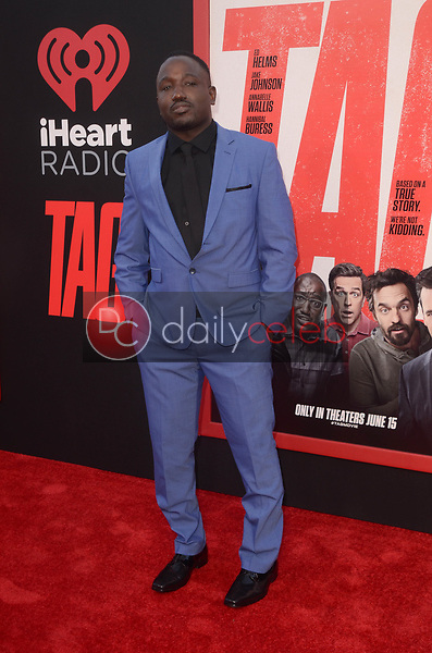 """Hannibal Buress<br /> at the """"Tag"""" World Premiere, Village Theater, Westwood, CA 06-07-17<br /> David Edwards/DailyCeleb.com 818-249-4998"""