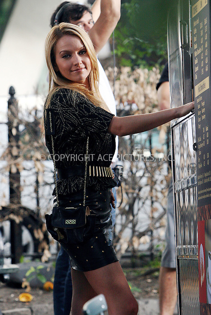 WWW.ACEPIXS.COM . . . . .  ....September 3 2009, New York City....Actress Becki Nexton on the midtown Manhattan set of the TV show 'Ugly Betty' on September 3 2009 in New York City....Please byline: NANCY RIVERA- ACE PICTURES.... *** ***..Ace Pictures, Inc:  ..tel: (212) 243 8787 or (646) 769 0430..e-mail: info@acepixs.com..web: http://www.acepixs.com