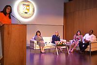 UNIBE Celebra festival gastronomico.Gloria Valdez, Teresa J. de Santos, Asheley Alemany y Wandy Robles.Foto:Saturnino Vasquez/acento.com.do.Fecha: 10/02/2012