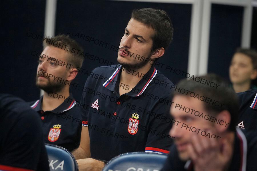 Kosarka Srbija - Francuska prijateljska<br /> Nemanja Bjelica<br /> 25.6.1016. JUN 25. 2016. (credit image &amp; photo: Marko Djokovic / STARSPORT)