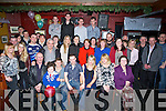 ENGAGED: Helen Delee (Mountcollins) and John O'Hehir (Doon) who announced their engagement on Saturday night in The Abbey Tavern, Ardfert, attending the engagement party were their family and friends.
