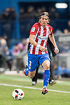 Filipe Luis of Atletico de Madrid in action during their Copa del Rey 2016-17 Quarter-final match between Atletico de Madrid and SD Eibar at the Vicente Calderón Stadium on 19 January 2017 in Madrid, Spain. Photo by Diego Gonzalez Souto / Power Sport Images