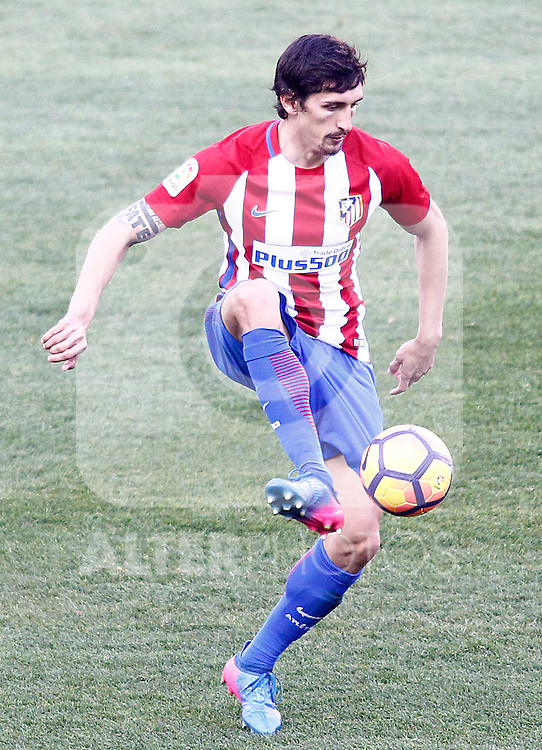 Atletico de Madrid's Stefan Savic during La Liga match. February 26,2017. (ALTERPHOTOS/Acero)