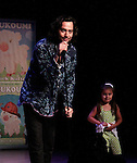 Constantine Maroulis (Bold and The Beautiful - American Idol) singing This is the Moment with his daughter Malena daning on the stage at Loukoumi & Friends Concert held on June 23, 2014 at the Scholastic Theatre, New York City, New York. Proceeds will benefit The Loukoumi Make a Difference Foundation. Foundation first project will be the Make A Difference with Loukoumi television special airing on FOX stations Oct 19-20. (Photo by Sue Coflin/Max Photos)