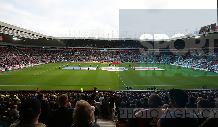 General view of the Stadium of Light during the International Friendly match at the Stadium of Light, Sunderland. Photo credit should read: Simon Bellis/Sportimage