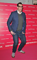Richard Osman at the Bodyworlds human anatomy exhibition VIP launch, The London Pavilion, Piccadilly Institute, London, England, UK, on Thursday 04 October 2018.<br /> CAP/CAN<br /> ©CAN/Capital Pictures
