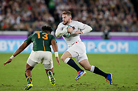 1st November 2019, Yokohama, Japan;  Elliot Daly of England during the 2019 Rugby World Cup final match between England and South Africa at International Stadium Yokohama in Kanagawa, Japan on November 2, 2019.