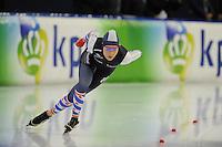 SCHAATSEN: HEERENVEEN: 04-02-2017, KPN NK Junioren, Junioren B Dames 500m, Michelle de Jong, ©foto Martin de Jong