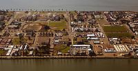 aerial photograph of Treasure Island, San Francisco, California