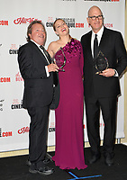 Amy Adams, Greg Foster &amp; Richard Gelfond at the American Cinematheque 2017 Award Show at the Beverly Hilton Hotel, Beverly Hills, USA 10 Nov. 2017<br /> Picture: Paul Smith/Featureflash/SilverHub 0208 004 5359 sales@silverhubmedia.com