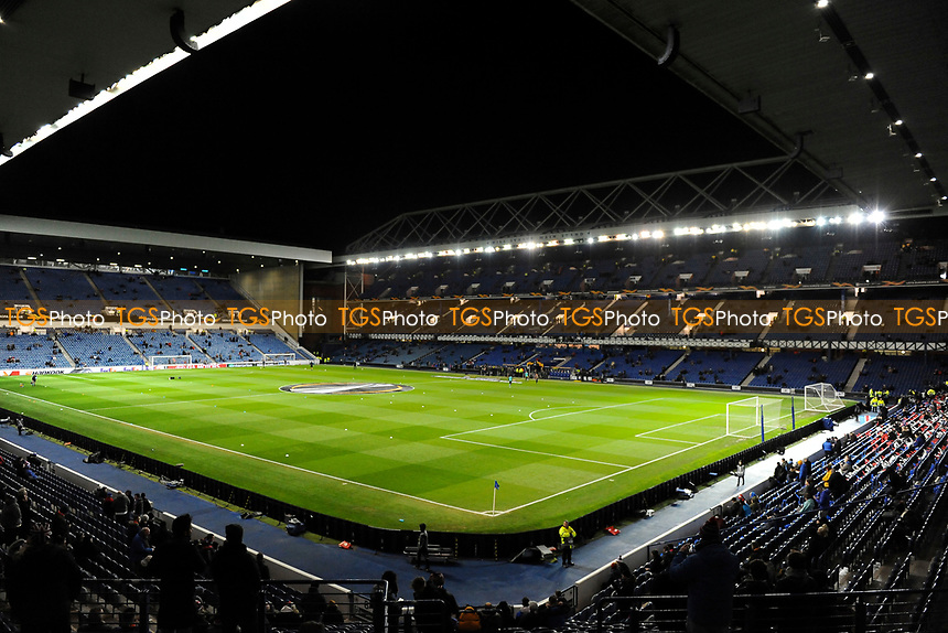 General stadium view during Rangers vs Villarreal CF, UEFA Europa League Football at Ibrox Stadium on 29th November 2018
