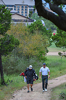 Graeme McDowell (NIR) makes his way to the tee on 1 during day 4 of the Valero Texas Open, at the TPC San Antonio Oaks Course, San Antonio, Texas, USA. 4/7/2019.<br /> Picture: Golffile | Ken Murray<br /> <br /> <br /> All photo usage must carry mandatory copyright credit (© Golffile | Ken Murray)